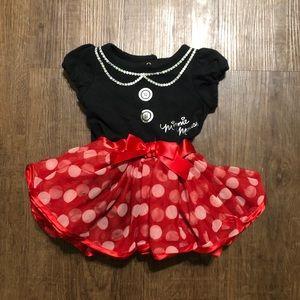 Disney Baby Minnie Mouse Onesie Dress Costume 3M